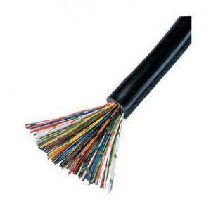 CW1308 Telecom Cable 10 Pair Black - Price per Meter