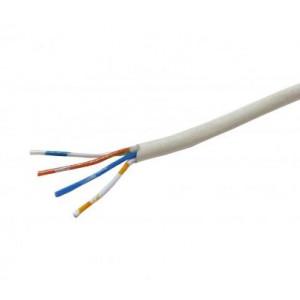 CW1308 Telecom Cable 2 Pair White 100m Reel