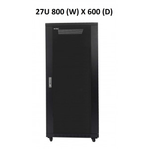 All-Rack 27U Floor Standing Server/Data Cabinet 800mm Wide X 600mm Deep
