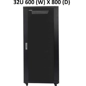 All-Rack 32U Floor Standing Server/Data Cabinet 600mm Wide X 800mm Deep