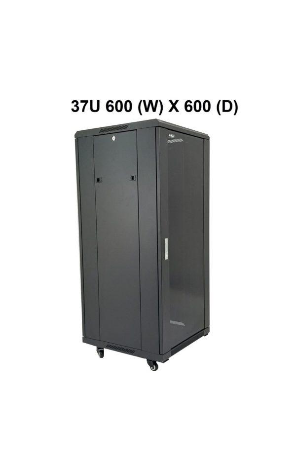 All-Rack 37U - Floor Standing Server/Data Cabinet 600mm Wide X 600mm Deep