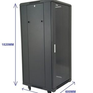 All-Rack 37U - Floor Standing Server/Data Cabinet 600mm Wide X 600mm Deep