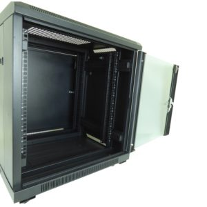 All-Rack 12U Floor Standing Server/Data Cabinet 600mm Wide X 600mm Deep