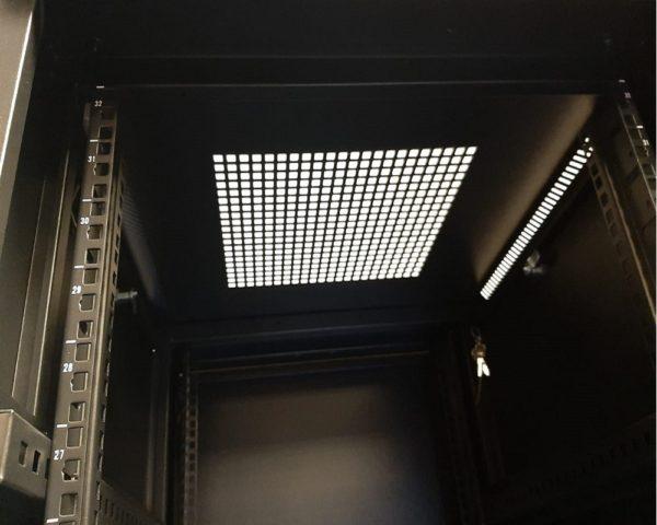 All-Rack 12U Floor Standing Server/Data Cabinet 600mm Wide X 600mm Deep
