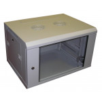 All-Rack Wall Mount Data Cabinet 6U 600mm Wide X 450mm Deep Grey, Data Rack, Network Cabinet