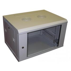 All-Rack Wall Mount Cabinet 12U 600mm Wide X 550mm Deep Grey