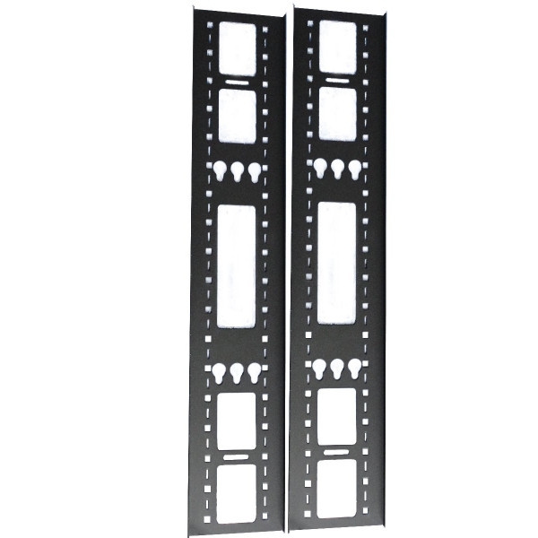 All-Rack Cable Tray 150mm Wide for a 12U Floor Standing Cabinet