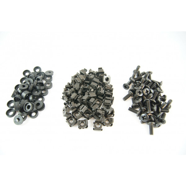 Black Cage Nuts Pack of 50