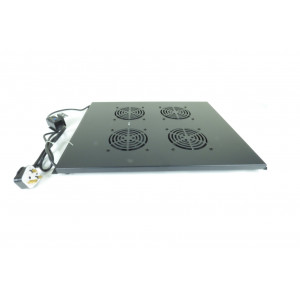 All-Rack 4 Way Thermostatic Roof Mount Fan 800mm Deep
