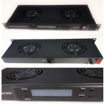 All-Rack 2 Way Digital Thermostatically ControlLED Rack Mount Fan Tray