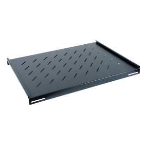 All-Rack Deep Fixed Shelf 350mm Deep for a 600mm Deep Floor Standing Data Cabinet