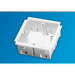 Single Outlet Box for Trunking