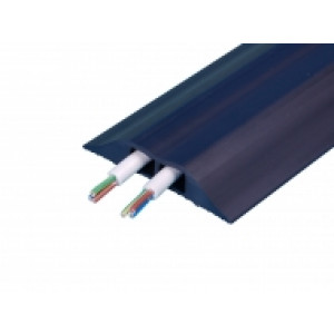 Combi Cable Cover 3mtr 93mm X 19mm Cable Cover Black 2 X 10mm X 16mm Holes