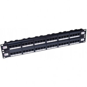 48 Port Cat 5e Elite Patch Panel