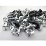 Sliver Cage Nuts Pack of 50