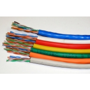 Cat 5e UTP PVC Stranded Patch Cable 305 Mtr