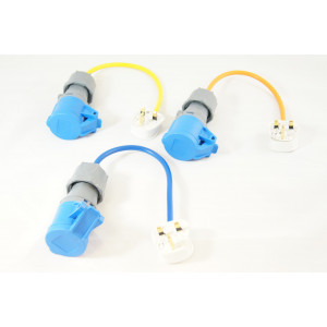 Electric Hook up Mains UK Plug Adaptor/Converter Cable