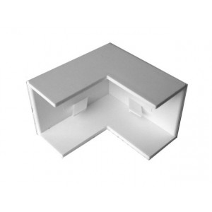 White External Angle for Trunking