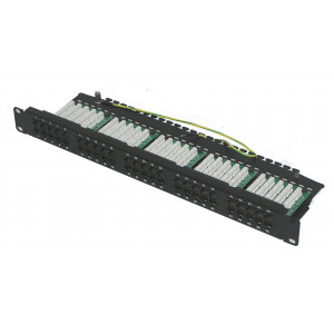 50 Port RJ45 Voice Patch Panel