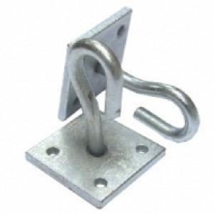 Galvanised Catenary 50 X 50 Hook Wall Plate