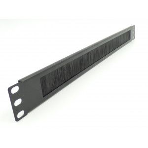1U Brush Strip Panel