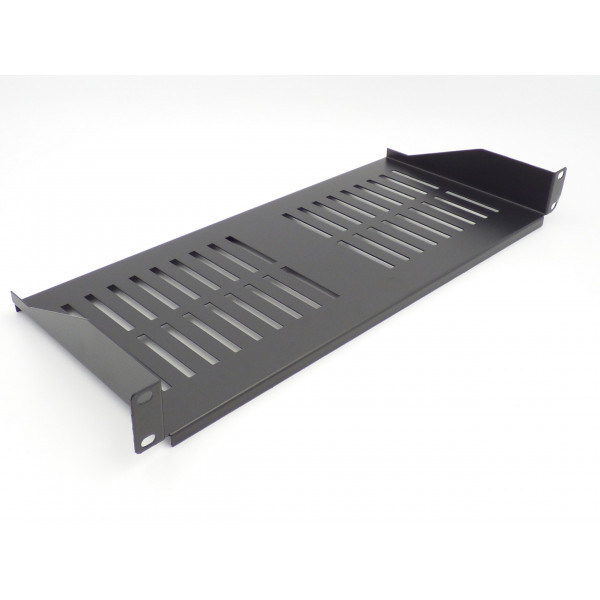 All-Rack 1U 200mm Deep Front Fixing Cantilever Shelf