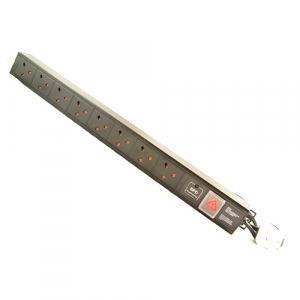 All-Rack 8 Way Vertical UK PDU