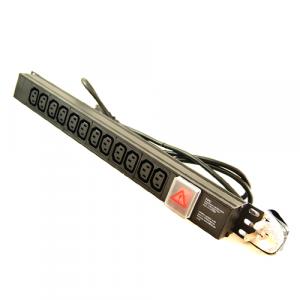 All-Rack 12 Way Vertical IEC PDU with UK Plug