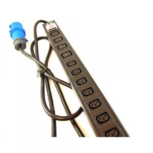 All-Rack 24 Way IEC PDU 20 X C13 + 4 X C19 - 32Amp Commando Plug