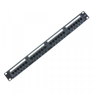 All-Rack 24 Port Cat 6 Patch Panel (AB)