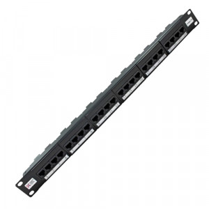 24 Port Elite Cat 5e Patch Panel