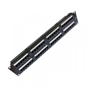 All-Rack 48 Port Patch Panel Cat 6 (AB)