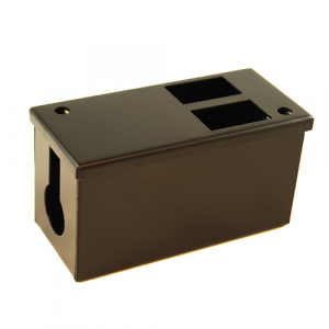 2 Way Pod Box 70mm Deep 25mm Entry Hole