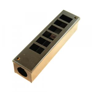 6 Way Pod Box 25mm Entry Hole