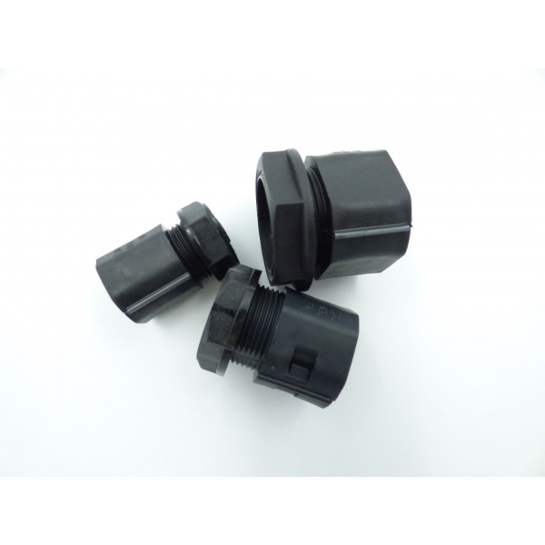 32mm Polyprop Black 2 Part Gland Pack of 10