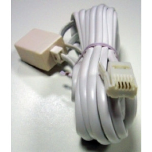 Telephone Extension Lead 4 Core
