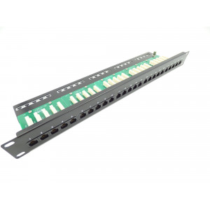 25 Port RJ45 Voice Patch Panel