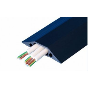 Multi Cable Cover, 9mtr 80mm X 18mm Cable Cover Black 30mm X 10mm Hole