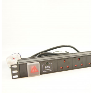 All-Rack 20 Way UK Horizontal PDU