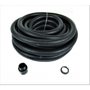 25mm Polyprop Black Flex Conduit LSZH 10 Mtr Contractor Pack