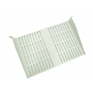 All-Rack 1U 300mm Grey Deep Front Fixing Cantilever Shelf