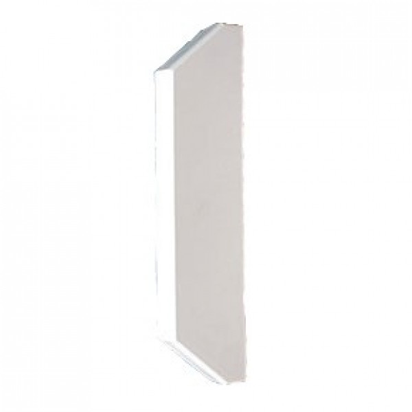 3 Compartment Dado Trunking Stop End