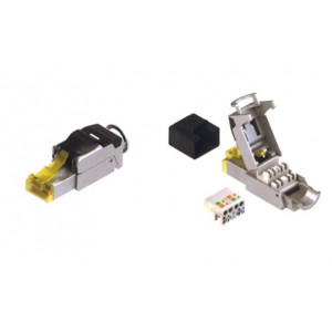 CobiCabling Field Termination RJ45 Plug Shielded CAT6a