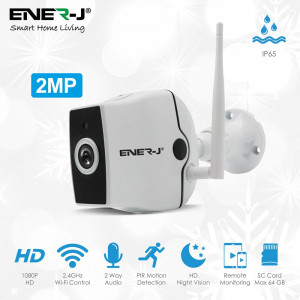 Smart Premium Outdoor IP Camera, 2MP, 2 Way Audio