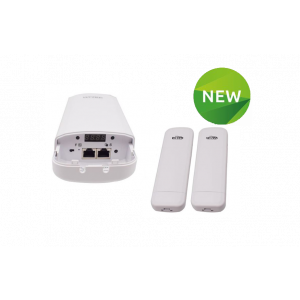 2 Radio Kit with POE Injectors and Optional standard POE out to Power single IP Camera