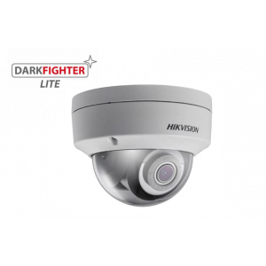 Hikvision 4MP Low Light IR Fixed Dome Network Camera, 4mm Lens