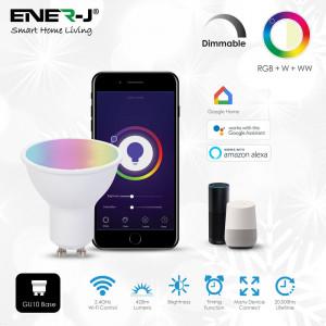 Smart WiFi 5W GU10 LED Spotlight - Pack of 3