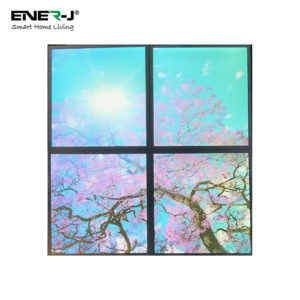 SKY Panel 60x60cms With Cherry Blossom Trees 2D Effect (4 Pcs Set)