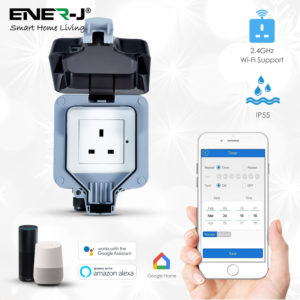 Outdoor Smart WiFi Socket IP55 Waterproof