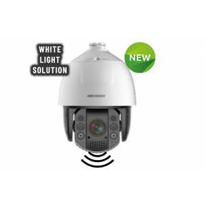 Hikvision 2MP 32× Network IR Speed Dome, Built-in speaker and strobe light,